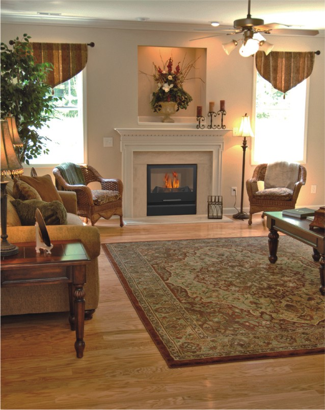 FLEXIFUEL - The pellet/wood burning hydronic heating fireplace - Setting #3