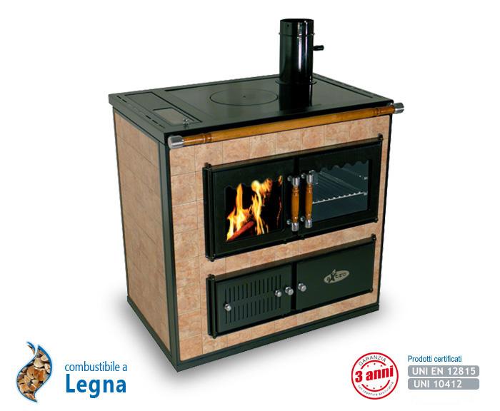 Cucina A Legna Idro.Cooker La Termocucina Idro A Legna Produzione Enerkos Industries