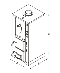 BOILER Modello BPA 40