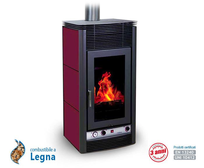 Stove la termostufa idro a legna produzione enerkos industries