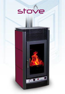 STOVE - The wood-burning hydronic heating stove