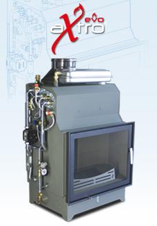 EVO - The new wood-burning hydronic heating fireplace
