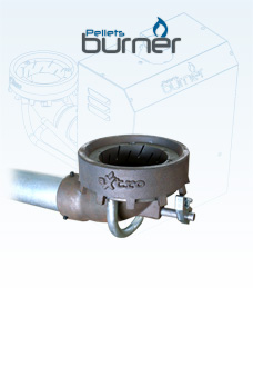 PELLETS BURNER - The automatic pellet burner