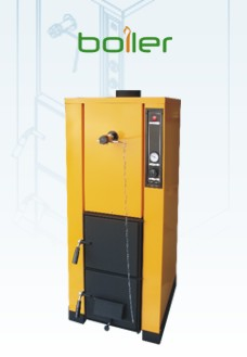 BOILER - The wood-burnig hydronic heating boiler