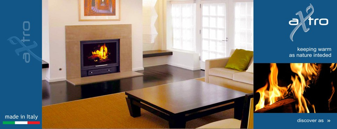 The wood-burning hydronic heating fireplace